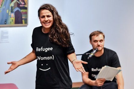 Refugee (woman) :)