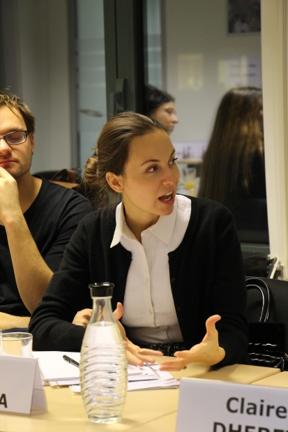 Meeting with MEP Eva Paunova, FutureLab Europe Annual Forum 2017